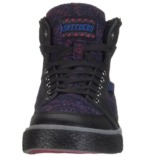 Skechers FASHION ATHLETIC - Street-Smarts - Duffy 23510, Damen Sneaker Schwarz (Bkpr)