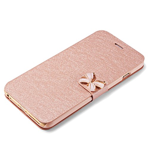 3D Housse Bling 5S Ekakashop iphone SE Coque Bling Jolie Champagne Portable iPhone Rose Papillon Strass Coque wBPnxn