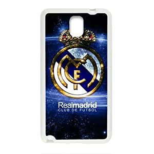 Happy Real Madrid Logo Cell Phone Case for Samsung Galaxy Note3