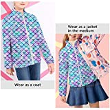 TUONROAD Youth Girls Fleece Lining Jacket with