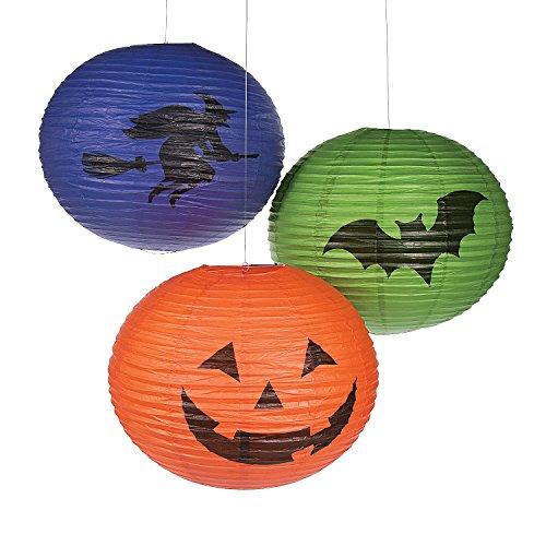 Halloween Jumbo Hanging Paper Lanterns (Hanging Jumbo Lantern)