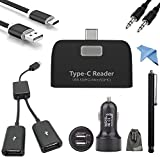 Cheap EEEKit USB C Card Reader, Micro SD/SDHC TF Card Adapter,Type C to USB 2.0 OTG Data Charging Cord Cable for Samsung Galaxy Note 8/S9/S8 Plus,OnePlus 5, LG G6 V20 V30