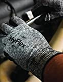 Ansell HyFlex 11-801 Nylon Glove, Black Foam