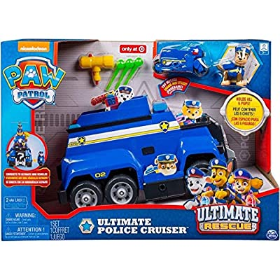 PAW Patrol Ultimate Police Cruiser: Toys & Games