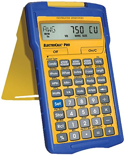 Calculated Industries 5070 ElectricCalc Pro Electrical Code Calculator