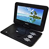 """Sylvania SDVD1032 10.1"""" Portable DVD and Media Player with 5 Hour Battery Life - Swivel Screen (Certified Refurbished)"""