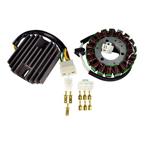 Kit Generator Stator + Voltage Regulator Rectifier For Suzuki GSXR 600 GSX-R 750 2000-2003 ()