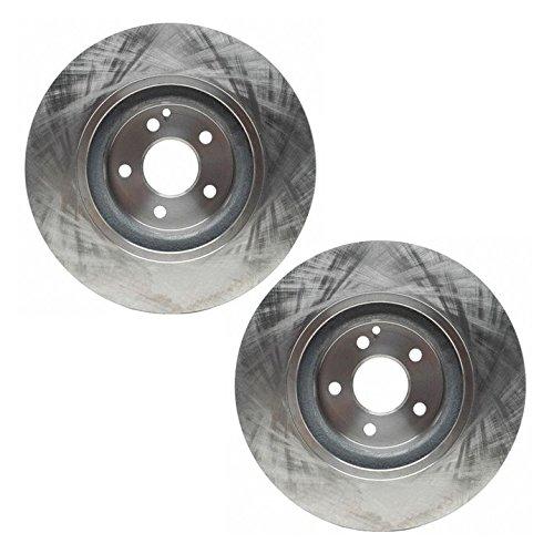 front disc brake rotor pair set of
