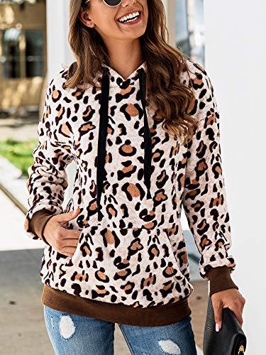 Hibluco Womens Tie Dye Long Sleeve Zip-Up Hoodie Jacket Drawstring Sweatshirt Coat with Pockets