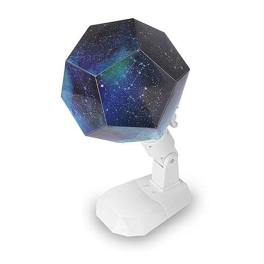 YJDQXKD Iluminación Proyector Estrellas,7 Colores Proyección ...