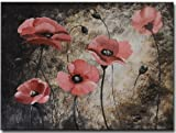 Segma FL1-3027 Hand Painted Stretched Canvas Wall Art
