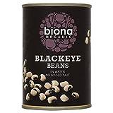 Biona Organic Blackeye Beans in Water 400g - Pack of 2