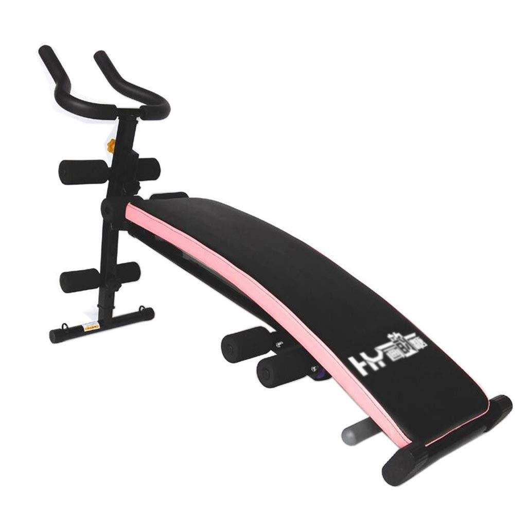 腹筋器具 シットアップボード多機能家庭用フィットネス機器腹部ウェブ贅沢腹部腹部機器 (Color : Pink, Size : 140*40*85cm) 140*40*85cm Pink B07K1PQ696