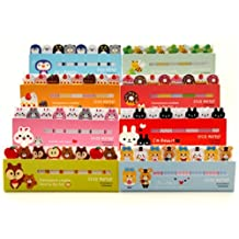 Water & Wood Sticker Post-It Bookmark Marker Memo Flag Index Tab Sticky Notes (363 animal series)