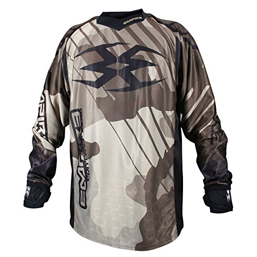 Empire 2016 Contact Zero F6 Paintball Jersey (Camo, -