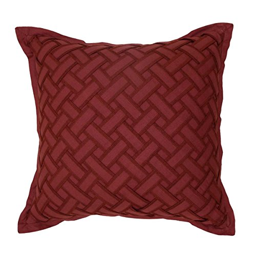 WAVERLY Fresco Flourish 16x16 Decorative Pillow, 16 x 16, Red