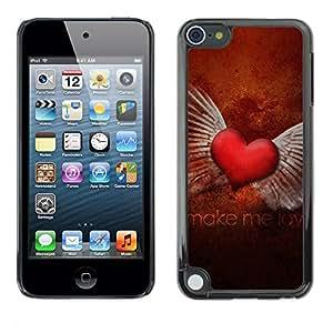 "For Apple iPod Touch 5 , S-type El amor Hacer el Amor"" - Arte & diseño plástico duro Fundas Cover Cubre Hard Case Cover"