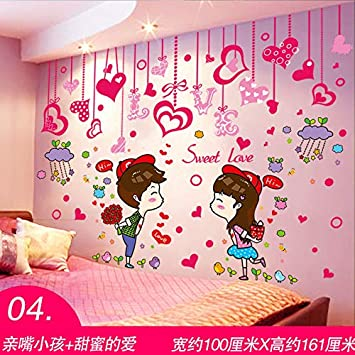 Amazon.com: fefre 3D Wall-Posters Wallpaper self Adhesive Bedroom ...