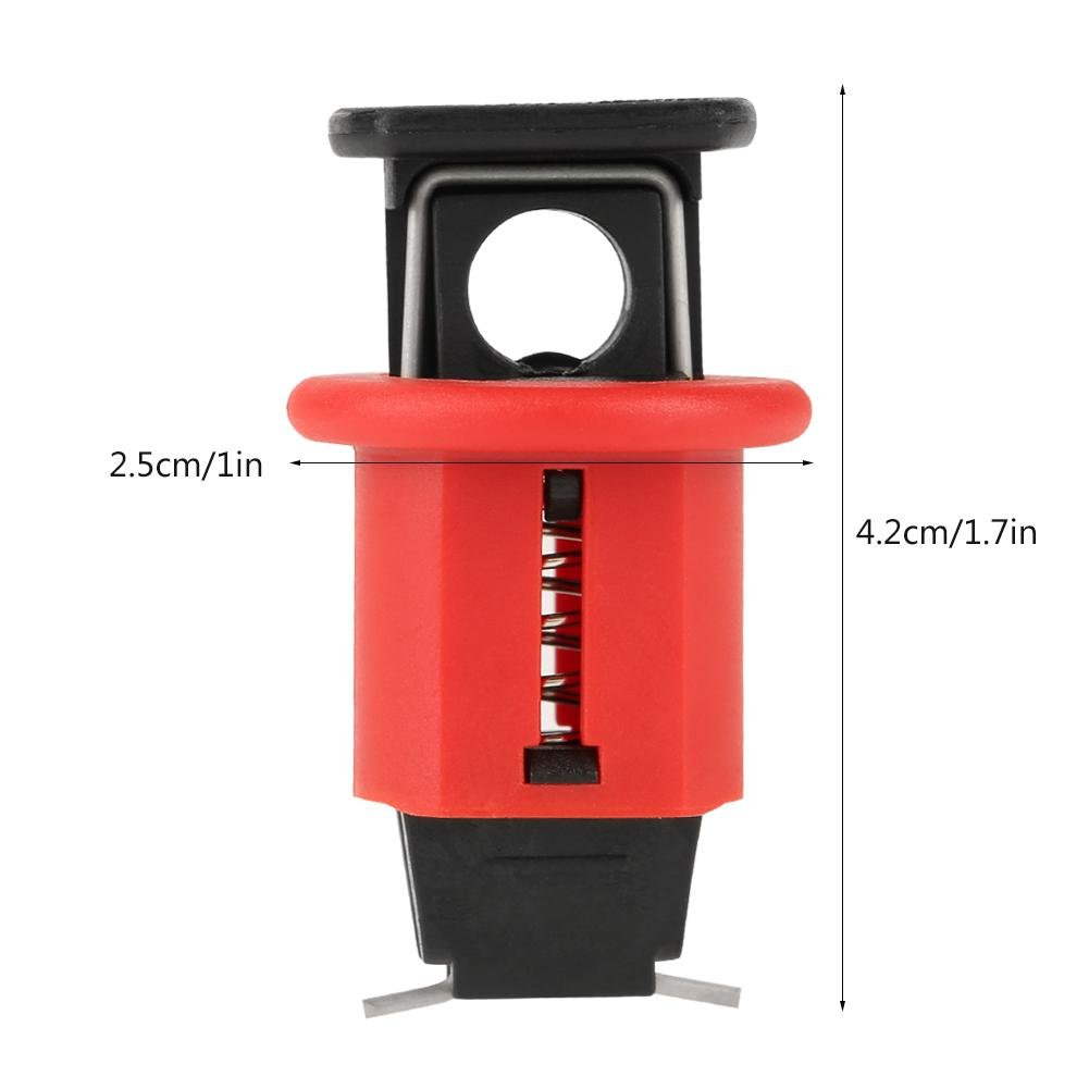Miniature Circuit Breaker Lock Air Switch Electrical Safety Lockout for Power Isolation