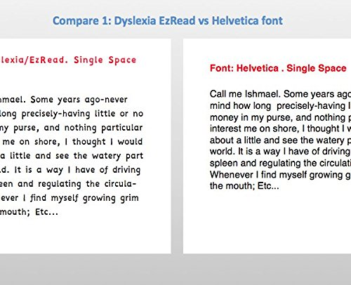 Amazon.com: Dyslexia Font | Ez-Read/Ez-Write Fonts | 12 Amazing ...