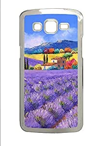 Samsung 2 7106 Case French Country Style Painting 02 PC Samsung 2 7106 Case Cover Transparent