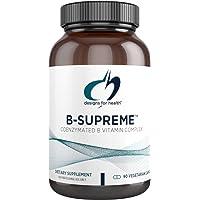 Designs for Health B-Supreme - B Vitamin Complex with B1, B2, B3, B6 + 12, Includes...