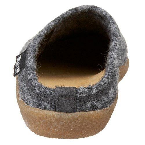 Giesswein Veitsch Unisex-Erwachsene Pantoffeln Grau (019 / anthrazit)