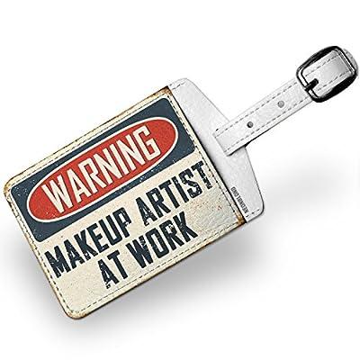 687a2839b6c5 70%OFF Luggage Tag Warning Makeup Artist At Work Vintage Fun Job ...