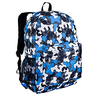 Wildkin 57213 Blue Camo Crackerjack Backpack (B007WU48QS) | Amazon Products