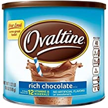 Ovaltine Nutritional Drink, Rich Chocolate, 1.12 lb