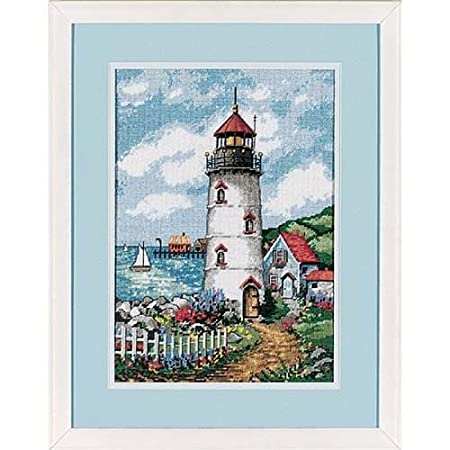 Dimensions Needlecrafts Needlepoint, Lighthouse Cove