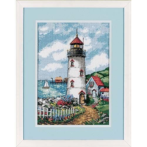Cove Needlepoint (Dimensions Needlecrafts Needlepoint, Lighthouse Cove)