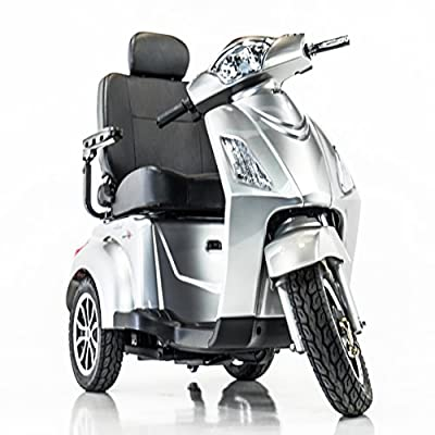 Pride Mobility Raptor R3-1700 Recreational Electric Scooter + Challenger XL Basket