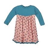 Image of KicKee Pants Print Swing Dress (Baby) - Blackberries - 6-12 Months