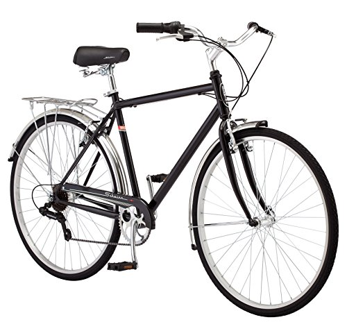 Schwinn Wayfarer Hybrid 700C Wheel Bicycle, Black, ()