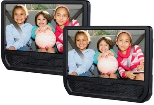 RCA DRC79981E 9-inch Dual Screen Portable DVD Player - Black (Certified Refurbished) (Dvd Portable Player Rca)