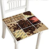 """Best Garden-Outdoor Coffee Beans - Cheery-Home Squared Seat Cushion (30""""x30""""x2pcs, Comfortable, in Door Review"""