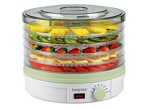 Beper 90.506 Essiccatore per Frutta e Verdura Abs Bianco/Verde 90506_BNV55