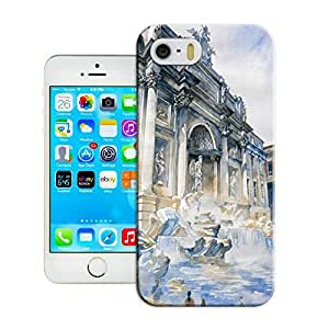 LarryToliver Fitted iphone 5/5s Cases Customizable Watercolor style architecture - Wholesale-