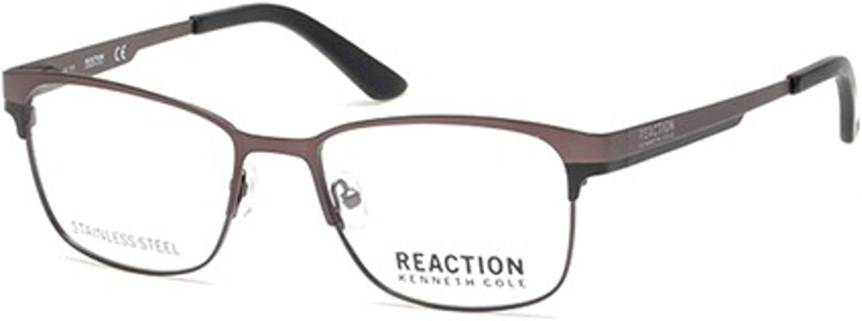 Eyeglasses Kenneth Cole Reaction KC 0789 009 matte gunmetal