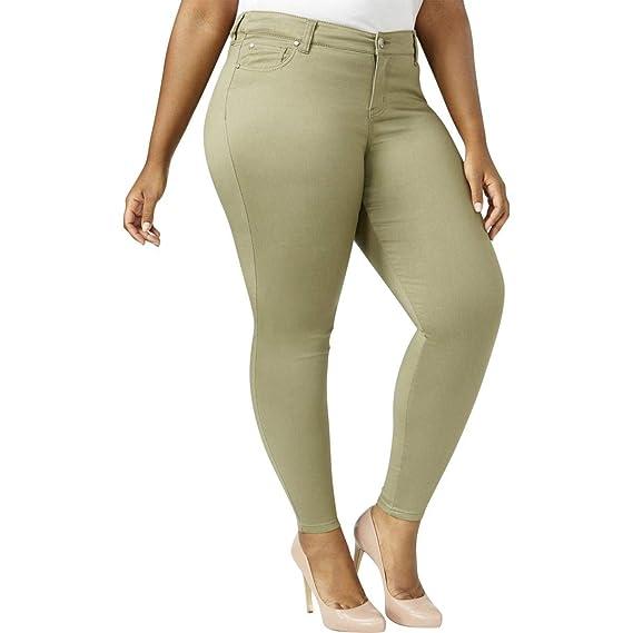 Celebrity Pink Trendy Plus Size Skinny Jeans