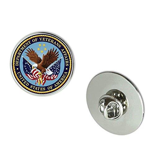 NYC Jewelers Department of Veteran Affairs Seal Metal 0.75