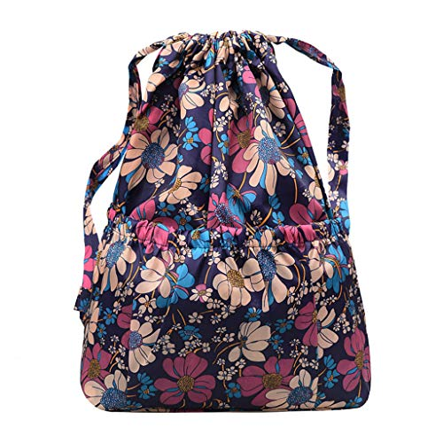 YEZIJIN Fashion Women Printed Shoulder Bag Gourd Leisure Bag Large-Capacity Travel Bag Under 20