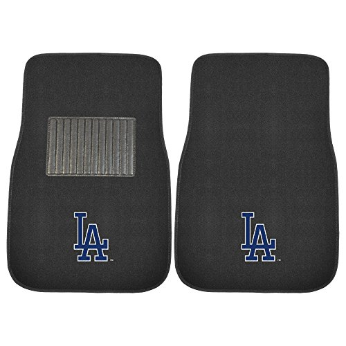 - CC Sports Decor MLB Los Angeles Dodgers 2-PC Embroidered Front Car Mat Set, Universal Size