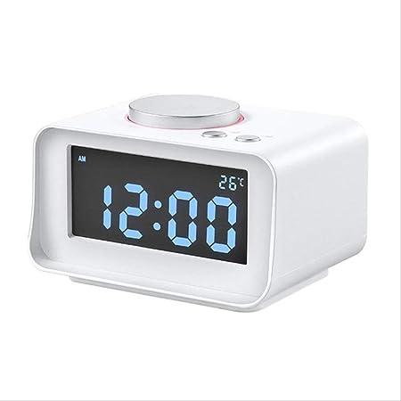 QSJWLKJ Reloj Despertador de proyección Función de repetición de ...