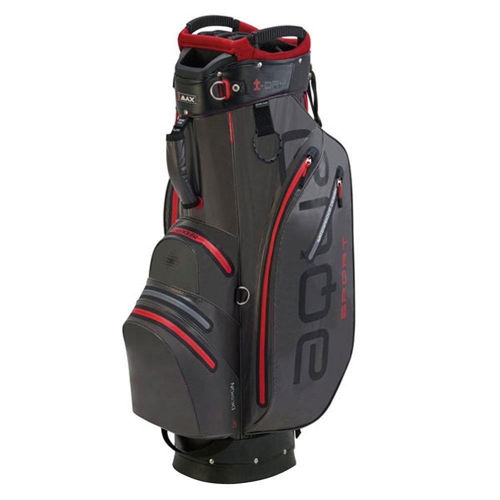 Big Max Golf Aqua Sport 2 Golf Cart Bag, Charcoal Black Red