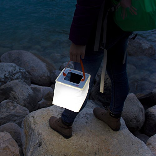LuminAID PackLite Max USB Solar Inflatable Waterproof Lantern