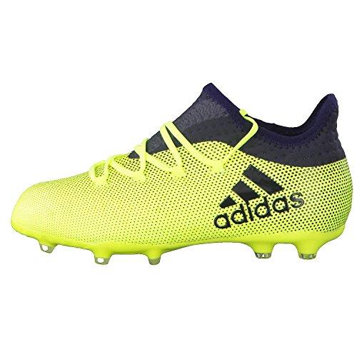 adidas Unisex-Kinder X 17.1 Fg J Fußballschuhe Gelb (Amasol/Tinley/Tinley)