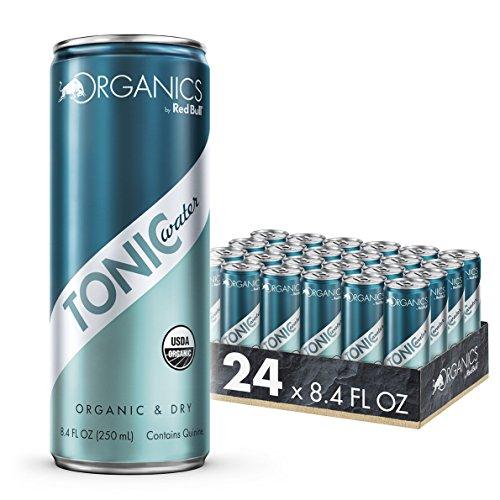Organics by Red Bull Tonic Water 24 Pack 8.4 Fl Oz, Organic Soda Drink