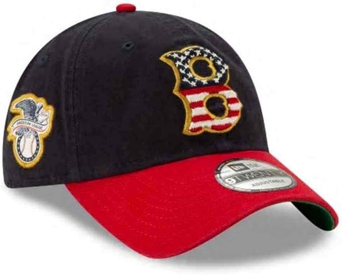 elegant shoes fashion styles genuine shoes New Era 2019 MLB Boston Red Sox July 4th Flag Logo Baseball Cap ...